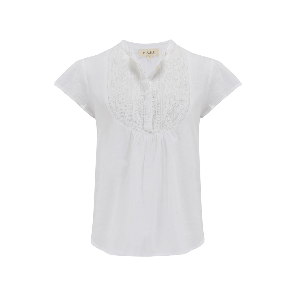 Mabe Freya Top White