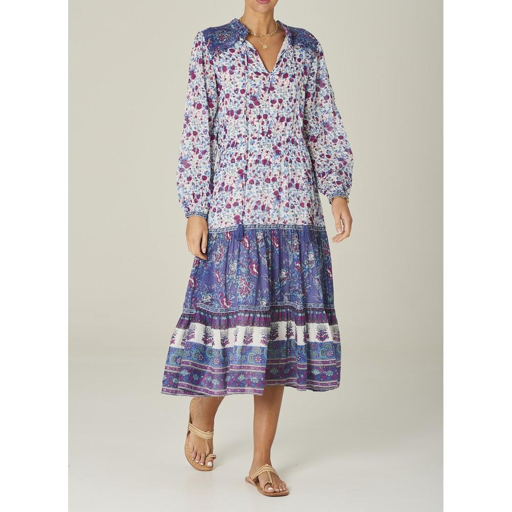 Mabe Alma Midi Dress Blue