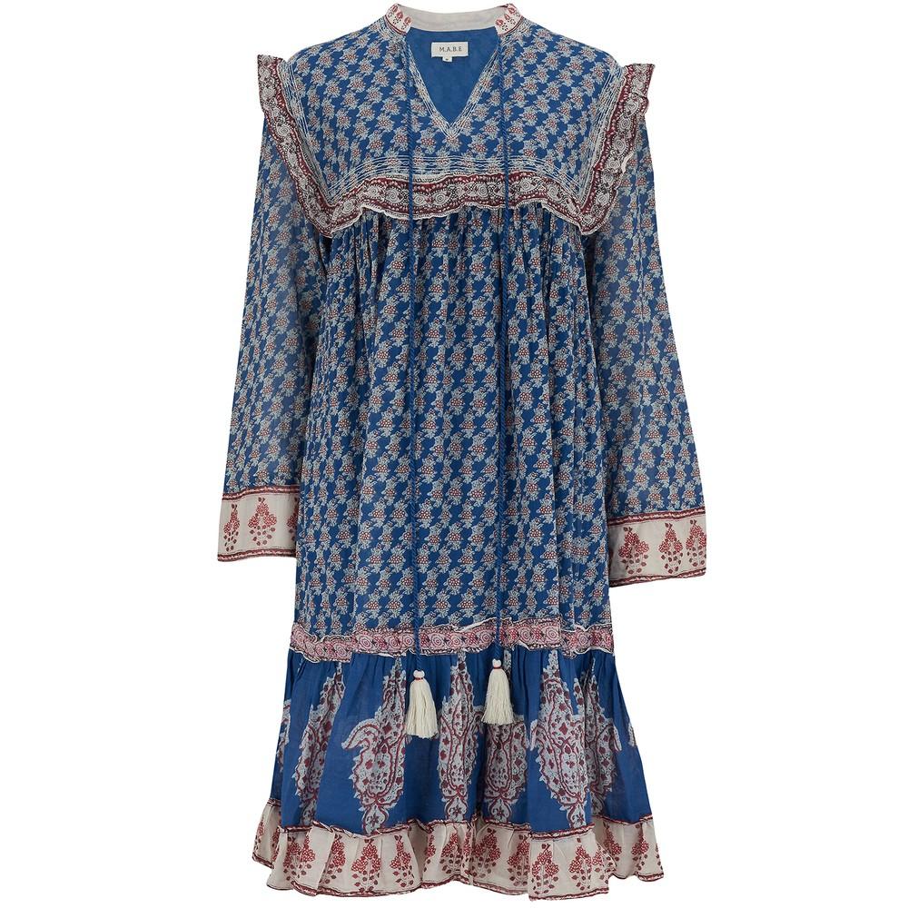 Mabe Madi Mid Dress Bright Blue