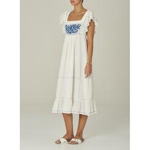 Mabe Alberta Dress in White