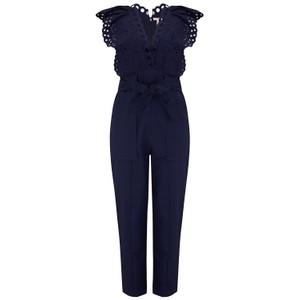 Rebecca Taylor Ariana Jumpsuit in Navy