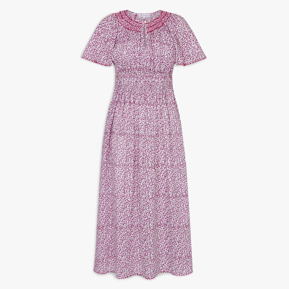 Pink City Prints Tamsin Dress Pink