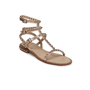 Ash Play Studded Sandals in Metallic
