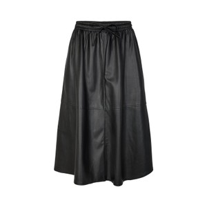 Sofie Schnoor Katelyn Leather Midi Skirt