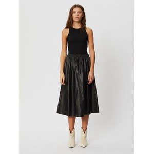 Sofie Schnoor Katelyn Leather Midi Skirt