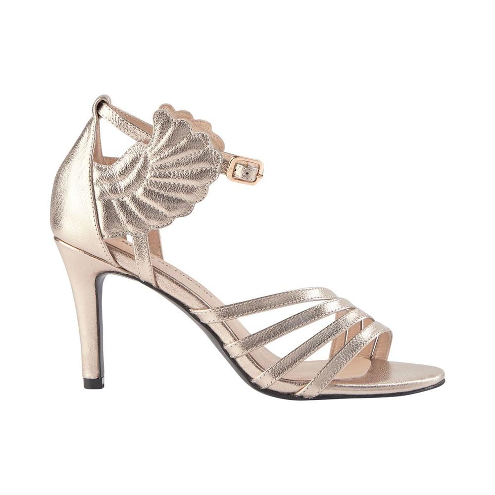 Sofie Schnoor Loucia Metallic Heels Metallic