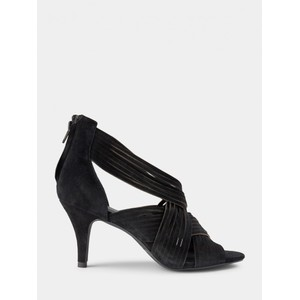 Sofie Schnoor Molly Suede Heels in Black