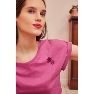Des Petits Hauts Felix T Shirt in Violette