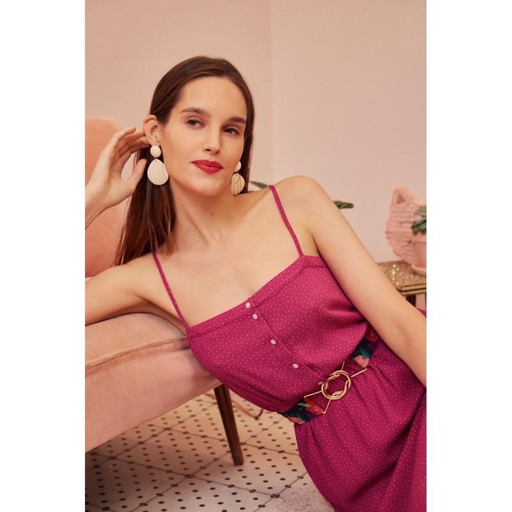 Des Petits Hauts Samanta Dress Pink