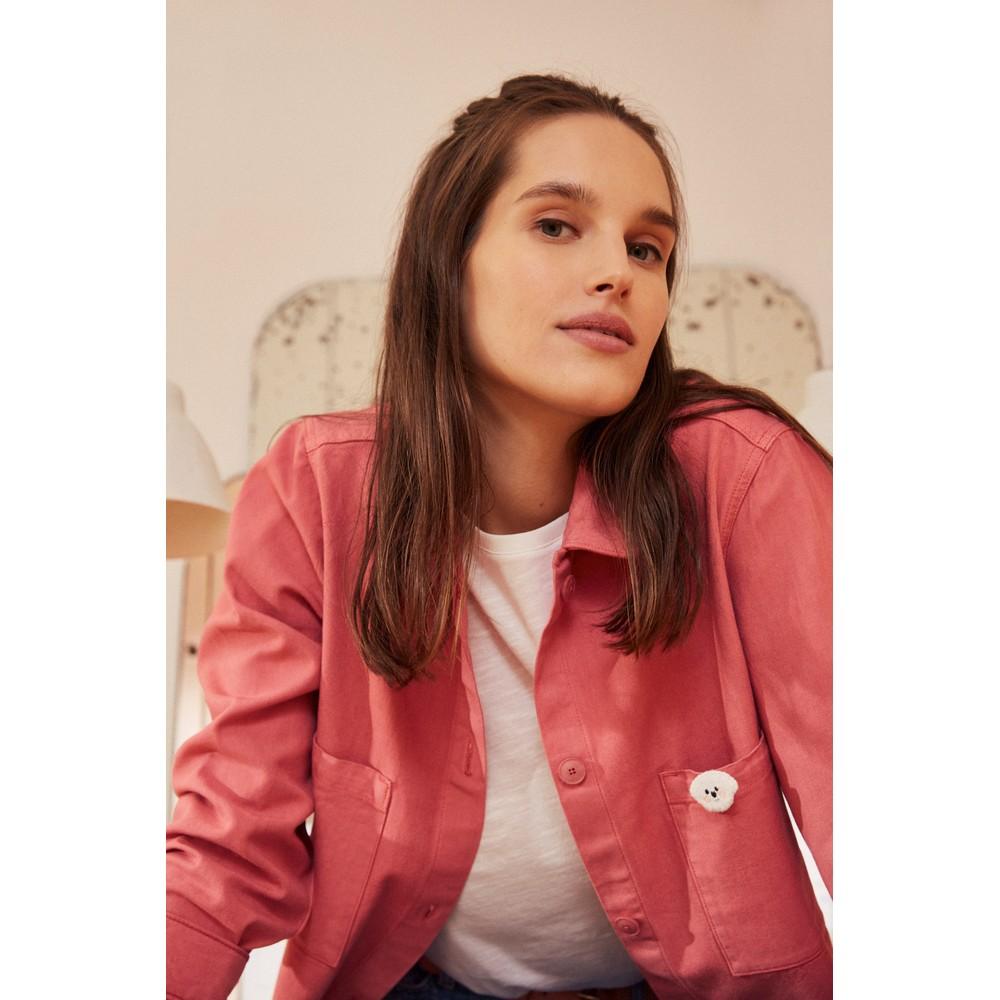 Des Petits Hauts Lina Shacket Pink