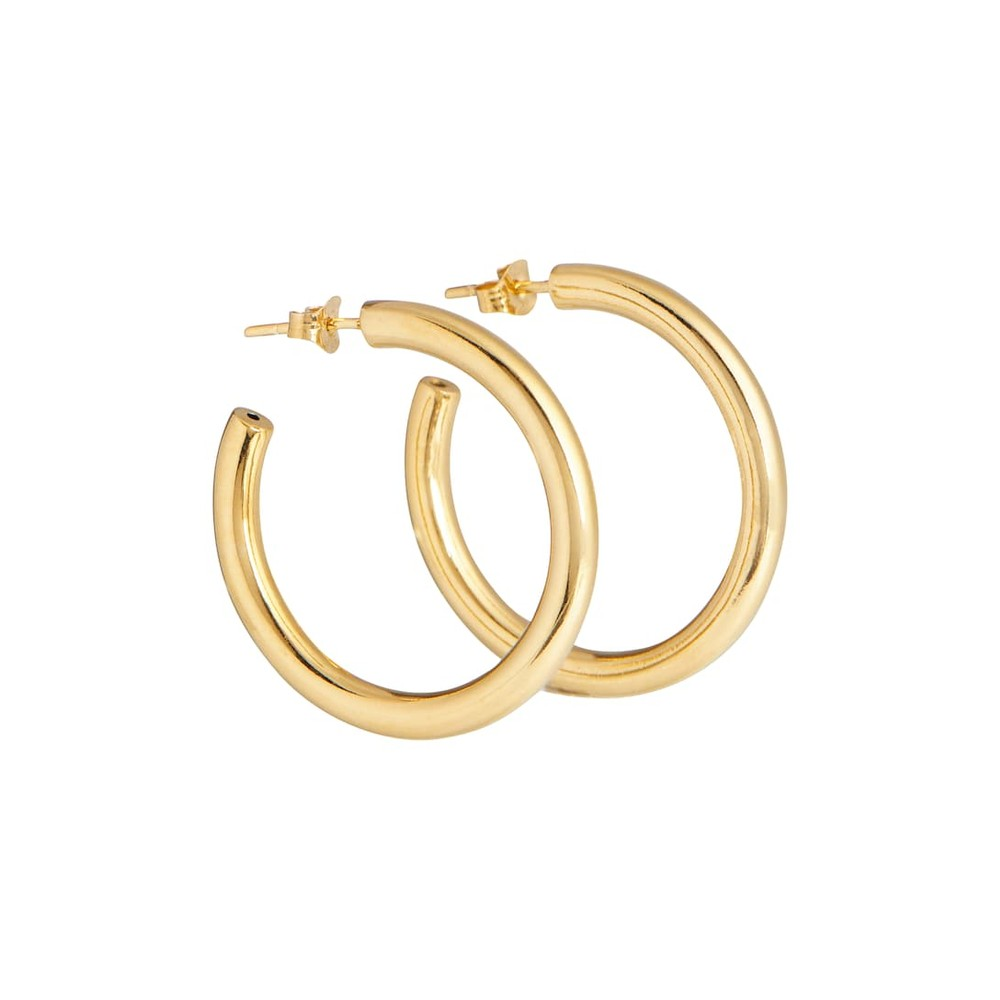 Tilly Sveaas Medium Gold Hoops Gold