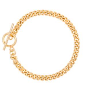Tilly Sveaas Baby Gold Curb Link Bracelet