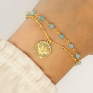 Ashiana Abellio Bracelet in Aqua