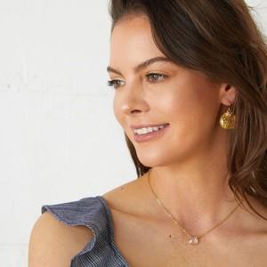 Ashiana Solange Earrings in Pearl