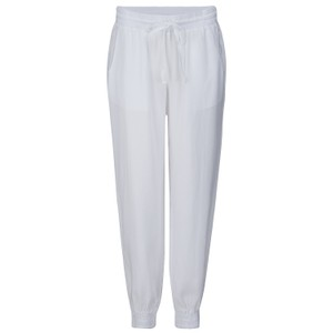 Bella Dahl Easy Jogger in Pink in White