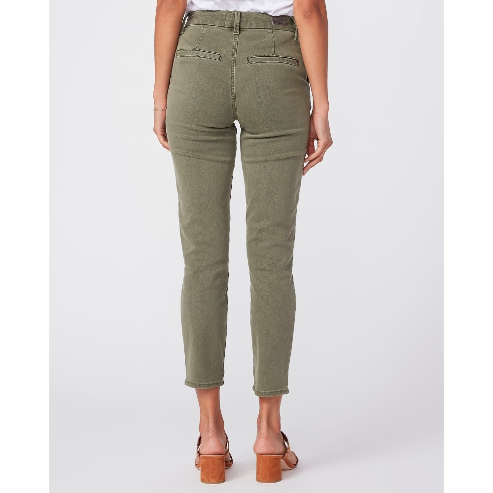 Paige Romy Trousers in Vintage Ivy KHAKI