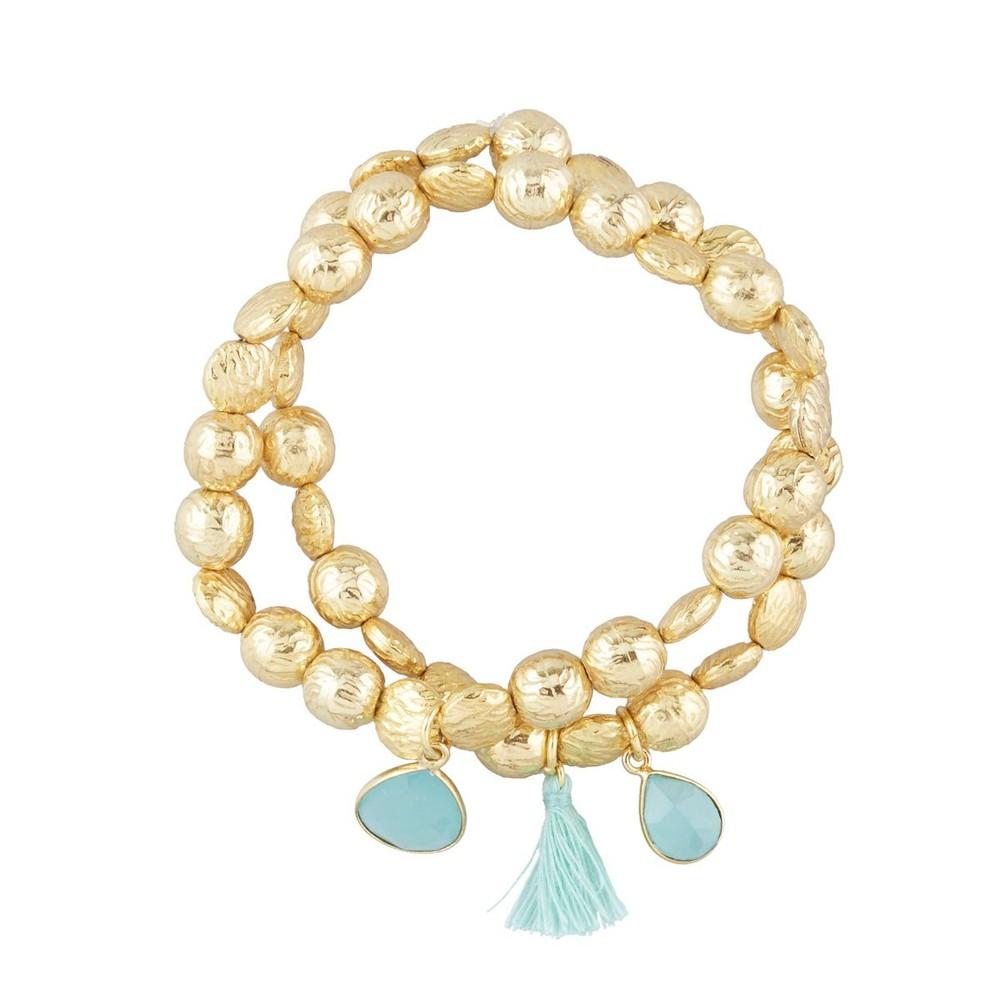Ashiana Goa Bracelet in Aqua Green