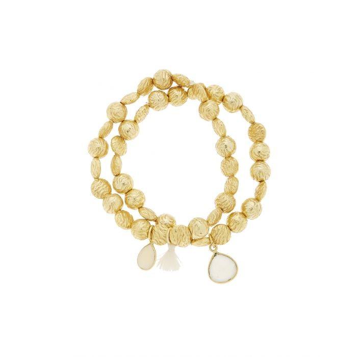 Ashiana Goa Bracelet in White White