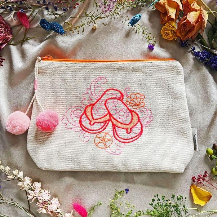 Ashiana Los Angeles Travel Bag Natural