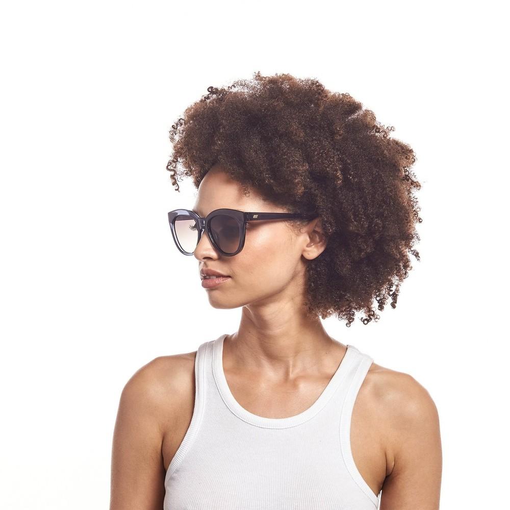 Le Specs Resumption Sunglasses in Midnight Navy