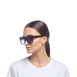 Le Specs Athena Sunglasses in Black