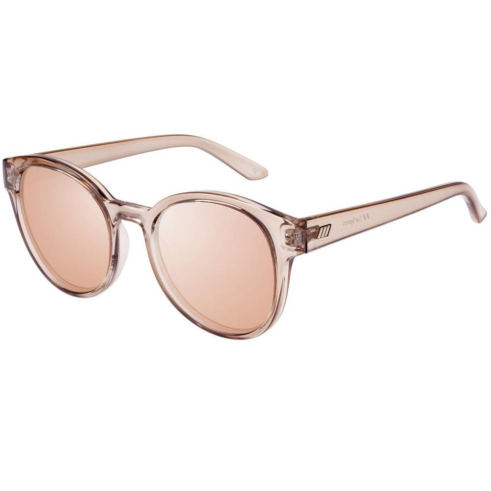 Le Specs Paramount Sunglasses in Tan Natural