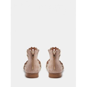 Sofie Schnoor Cut Out Sandals in Rose