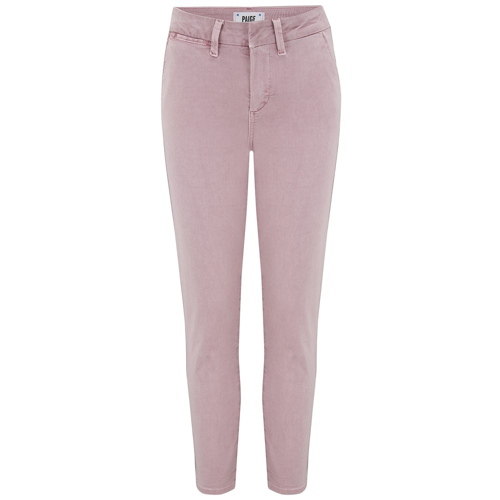 Paige Romy Trouser in Vintage Mauve Pale Pink