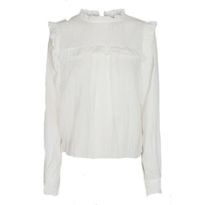 Sofie Schnoor Ruffle Blouse in White