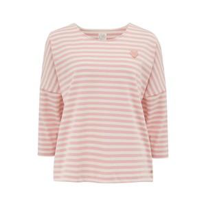 Des Petits Hauts Judi Sweater in Ecru /Pink