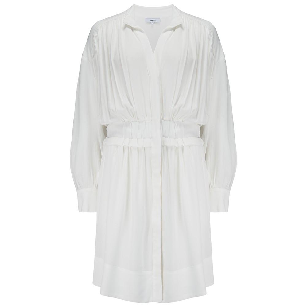 Suncoo Clara Dress in White White
