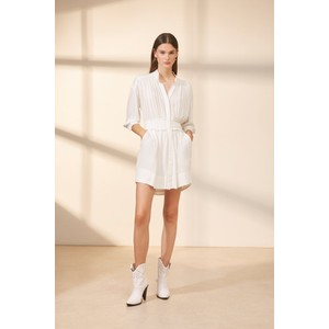 Suncoo Clara Dress in White