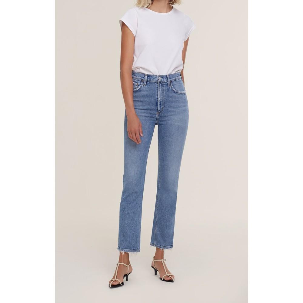 Agolde Wilder Jeans in Cascadia Light Denim