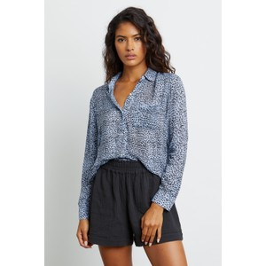 Rails Josephine Buttondown Shirt in Blue Lynx