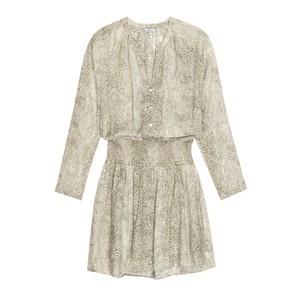 Rails Jasmine Dress in Cream Snakeskin