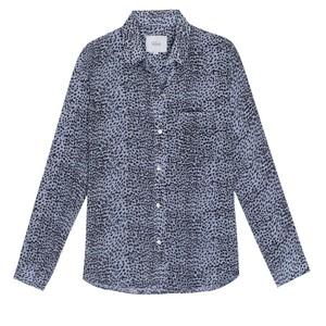 Rails Josephine Buttondown Shirt in Blue Lynx