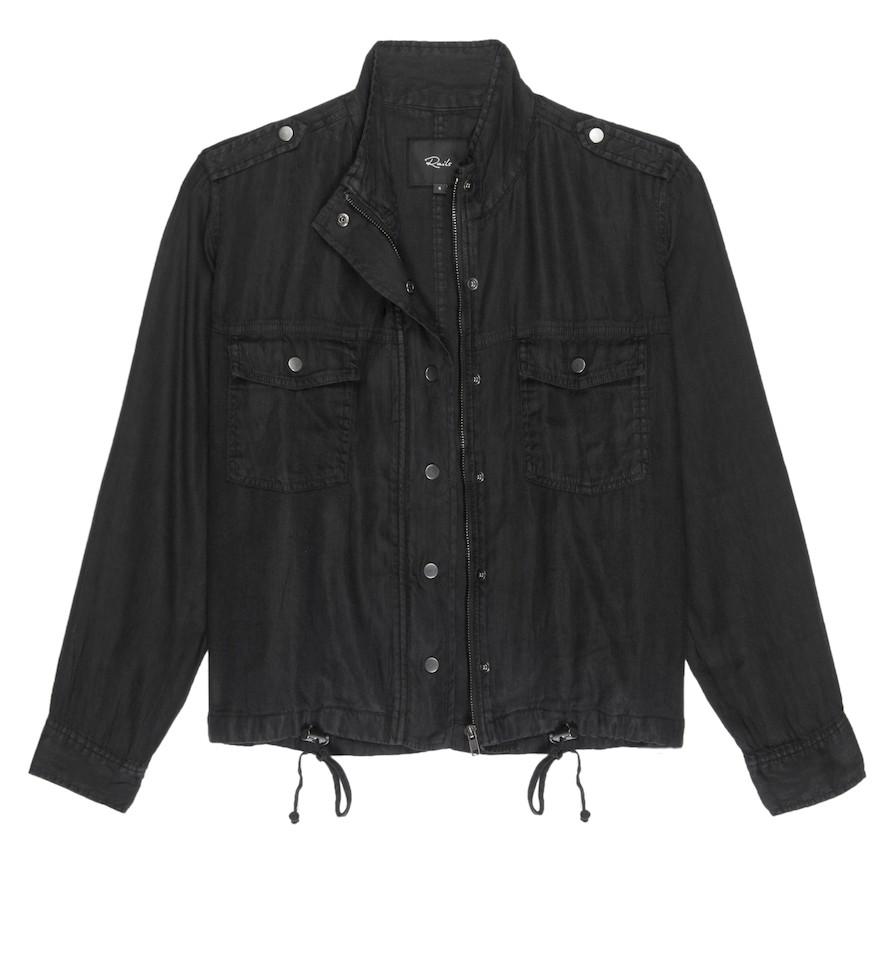 Rails Collins Jacket in Black Black