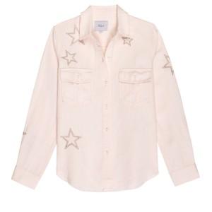 Rails Loren Star Shirt in Blush