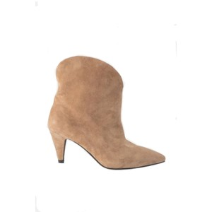 Sofie Schnoor Loucia Suede Ankle Boots in Taupe