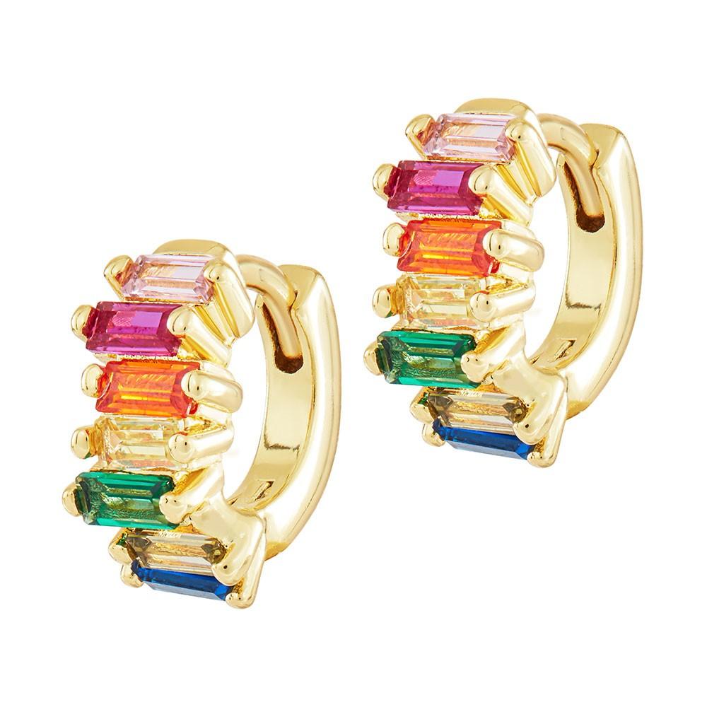 Celeste Starre Honolulu Earrings Gold