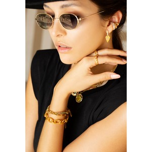 Celeste Starre Peace and Love Earrings