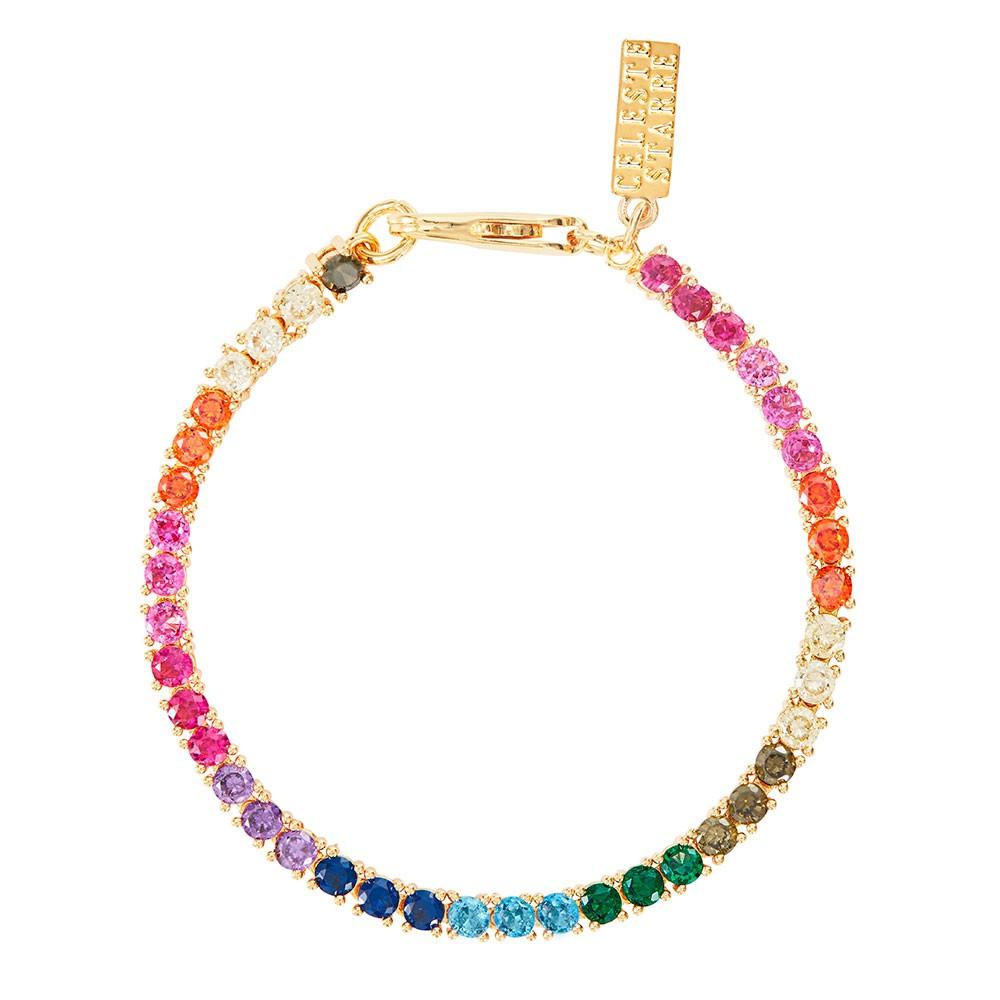 Celeste Starre Rainbow Dreams Bracelet Gold