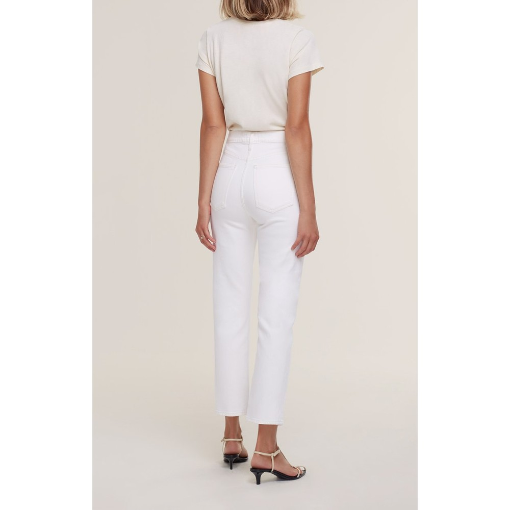 Agolde Wilder Jeans in Untitled White