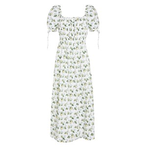 Faithfull The Brand Flora Midi Dress in Bendita Floral Print