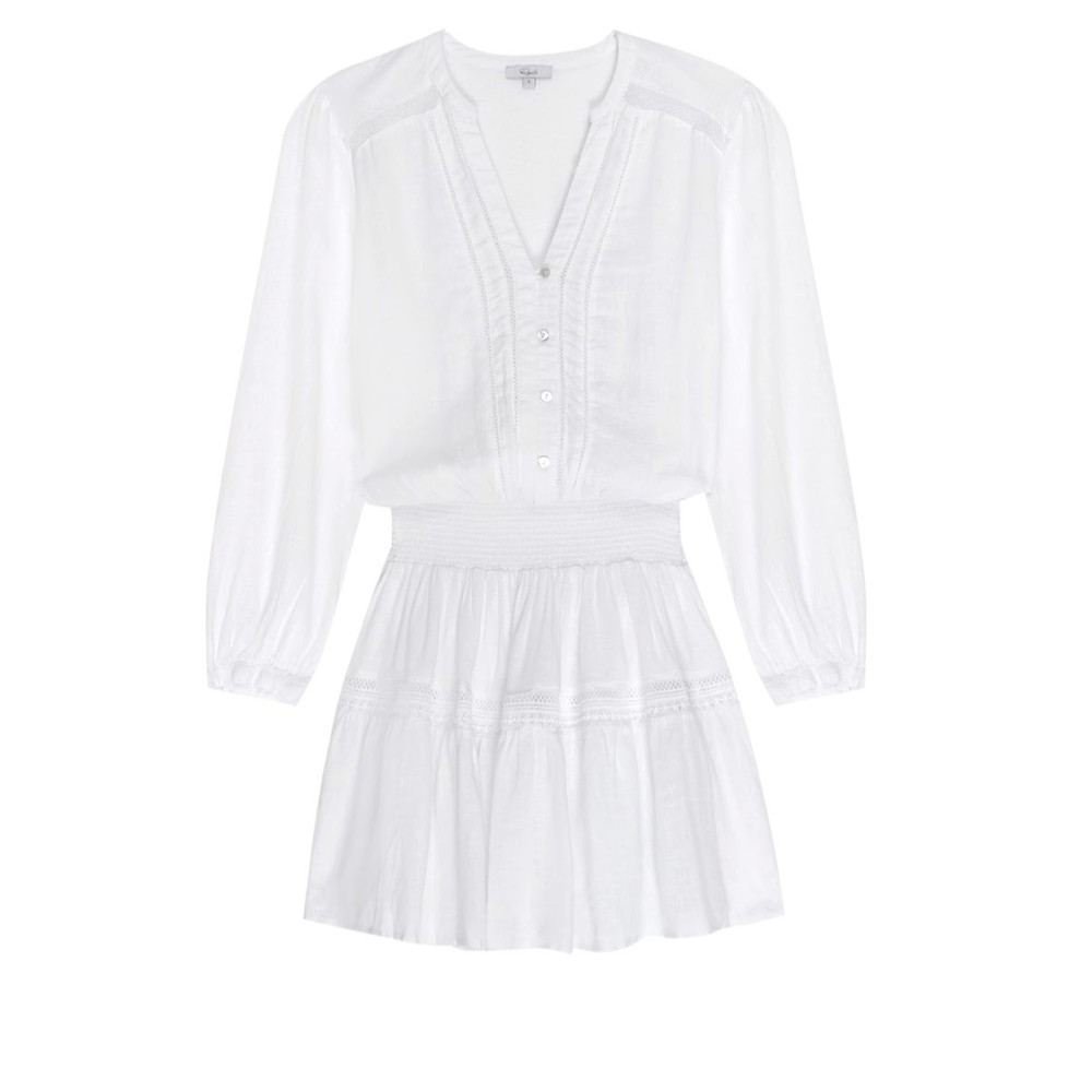 Rails Jasmine Dress in White Lace White