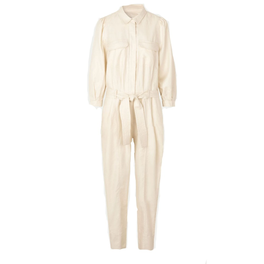 Second Female Selene New Jumpsuit White