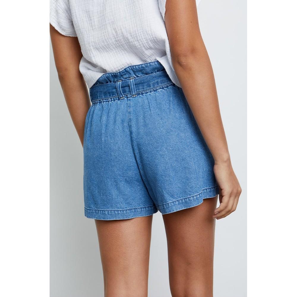 Rails Belle Shorts in Sorrento Wash Dark Denim