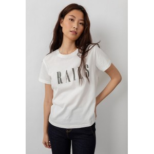 Rails The Classic Crew Logo T Shirt in White