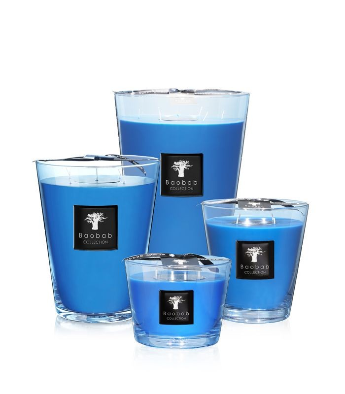 Baobab Collection Nosy Iranja Luster Candle Max 16 Blue