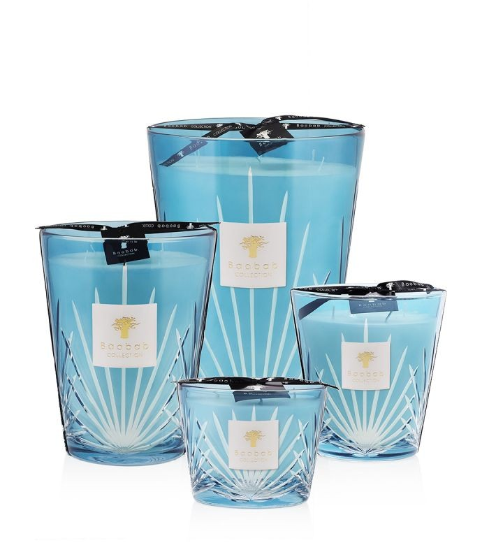 Baobab Collection West Palm Candle Max 16 Blue